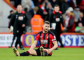 3rd December 2017, Vitality Stadium, Bournemouth, England; EPL Premier League football, Bournemouth versus Southampton; Simon Francis of Bournemouth sits on the pitch at full time