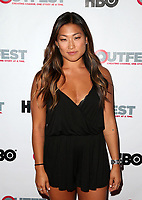 "WEST HOLLYWOOD, CA July 11- Jenna Ushkowitz At 2017 Outfest Los Angeles LGBT Film Festival Screening of ""Hello Again"" at The DGA Theater, California on July 11, 2017. Credit: Faye Sadou/MediaPunch"