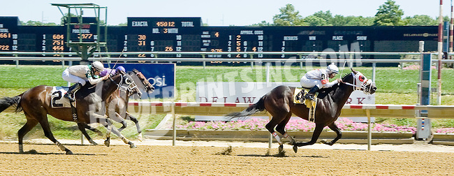 Drivebymedia winning at Delaware Park on 7/25/12