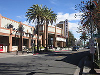 Downtown Brea California