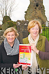 Ballydonoghue Parish Magazine: Pictured at Liselton cemetery to announce the launch of the Ballydonoghue Parish magazine on Friday 6th December are Mary Dee, Assisted Secretary & Noelle Hegarthy, Secretary.
