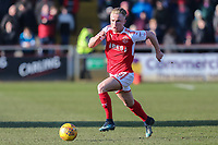 Kyle Dempsey of Fleetwood Town during the Sky Bet League 1 match between Fleetwood Town and MK Dons at Highbury Stadium, Fleetwood, England on 24 February 2018. Photo by David Horn / PRiME Media Images