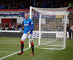 09.12.2018 Dundee v Rangers: Kyle Lafferty scores but is ruled out for offside