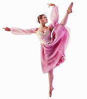 A ballet dancer.