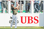 Jens Fahrbring of Sweden tees off the first hole during the 58th UBS Hong Kong Golf Open as part of the European Tour on 10 December 2016, at the Hong Kong Golf Club, Fanling, Hong Kong, China. Photo by Marcio Rodrigo Machado / Power Sport Images