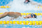 € Yuki Kobori (JPN), <br /> AUGUST 20, 2018 - Swimming : <br /> Men's 4x200m Freestyle Relay Heat <br /> at Gelora Bung Karno Aquatic Center <br /> during the 2018 Jakarta Palembang Asian Games <br /> in Jakarta, Indonesia. <br /> (Photo by Naoki Morita/AFLO SPORT)