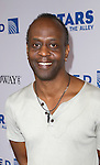 K. Todd Freeman backstage at United presents 'Stars in the Alley' in  Shubert Alley on May 27, 2015 in New York City.