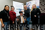 Pictured at the launch of the SMARTLab VR First in Cahersiveen on Monday were l-r; Multimedia Expert Haireena Ooi, Dr.Anita McKeown, Globally Renowned XR Trainer Zi Siang See, Michael Donnelly & Professor Lizbeth Goodman(UCD).