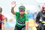 Peter Sagan (SVK) Bora-Hansgrohe retains the points Green Jersey at the end of Stage 15 of the 2019 Tour de France running 185km from Limoux to Foix Prat d'Albis, France. 20th July 2019.<br /> Picture: Colin Flockton | Cyclefile<br /> All photos usage must carry mandatory copyright credit (© Cyclefile | Colin Flockton)