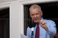 19.08.2012 - Julian Assange Speech from the Ecuadorian Embassy