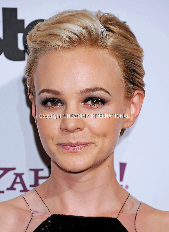 """CAREY MULLIGAN.attends the 15th Annual Hollywood Film Awards Gala Presented By Starz at the Beverly Hilton Hotel, Beverly Hills, Los Angeles_24/10/2011.Mandatory Photo Credit: ©Crosby/Newspix International. .**ALL FEES PAYABLE TO: """"NEWSPIX INTERNATIONAL""""**..PHOTO CREDIT MANDATORY!!: NEWSPIX INTERNATIONAL(Failure to credit will incur a surcharge of 100% of reproduction fees).IMMEDIATE CONFIRMATION OF USAGE REQUIRED:.Newspix International, 31 Chinnery Hill, Bishop's Stortford, ENGLAND CM23 3PS.Tel:+441279 324672  ; Fax: +441279656877.Mobile:  0777568 1153.e-mail: info@newspixinternational.co.uk"""