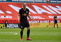 24th May 2020, Opel Arena, Mainz, Rhineland-Palatinate, Germany; Bundesliga football; Mainz 05 versus RB Leipzig; Marcel Sabitzer (RB Leipzig) celebrates his goal for 0-3 in the 36th minute