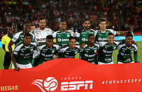 BOGOTÁ-COLOMBIA, 13-01-2020: Jugadores de Deportivo Cali, posan para una foto, antes de partido entre Independiente Santa Fe y Deportivo Cali, por el Torneo ESPN 2020, jugado en el estadio Nemesio Camacho El Campin de la ciudad de Bogotá.  / Players of Deportivo Cali, pose for a photo prior a match between Independiente Santa Fe and Deportivo Cali, for the ESPN Tournament 2020, played at the Nemesio Camacho El Campin stadium in the city of Bogota. Photo: VizzorImage / Luis Ramírez / Staff.