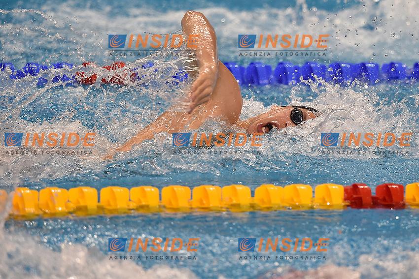 DI FABIO Nicolangelo ITA Men's 4x200 Freestyle Relay <br /> Doha Qatar 04-12-2014 Hamad Aquatic Centre, 12th FINA World Swimming Championships (25m). Nuoto Campionati mondiali di nuoto in vasca corta.<br /> Photo Andrea Staccioli/Deepbluemedia/Insidefoto