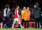 Arsenal's Mesut Ozil argues with fans at the final whistle during the Premier League match at the Emirates Stadium, London. Picture date: 5th December 2019. Picture credit should read: David Klein/Sportimage