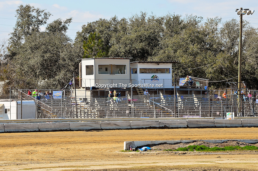 Feb 09, 2014; 3:33:24 PM; Lake City, FL., USA; The UMP Nationals running a $5000-to-win UMP DIRTcar event at North Florida Speedway.  Mandatory Credit: (thesportswire.net)