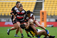 Shyanne Thompson of Counties Manukau in action during the Farah Palmer Cup - Wellington Pride v Counties Heat at Westpac Stadium, Wellington, New Zealand on Sunday 15 September 2019. <br /> Photo by Masanori Udagawa <br /> www.photowellington.photoshelter.com