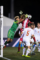 Santa Barbara, CA - Friday, December 7, 2018:  Maryland men's soccer defeated Indiana 2-0 in a semi-final match in the 2018 College Cup.  Dayne St. Clair.