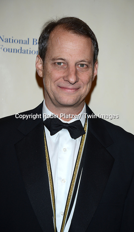 George Packer attends the 2013 National Book Awards Dinner and Ceremony on November 20, 2013 at Cipriani Wall Street in New York City.