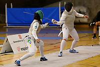 SABADELL, ESPANHA, 26.10.2019 - ESPORTE-ESPANHA - Ana Beatriz Bulcão  durante o Torneio Internacional de Esgrima na Espanha. Foto: Ismael Arroyo/Brazil Photo Press)