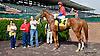 Bunhead winning at Delaware Park on 10/3/13