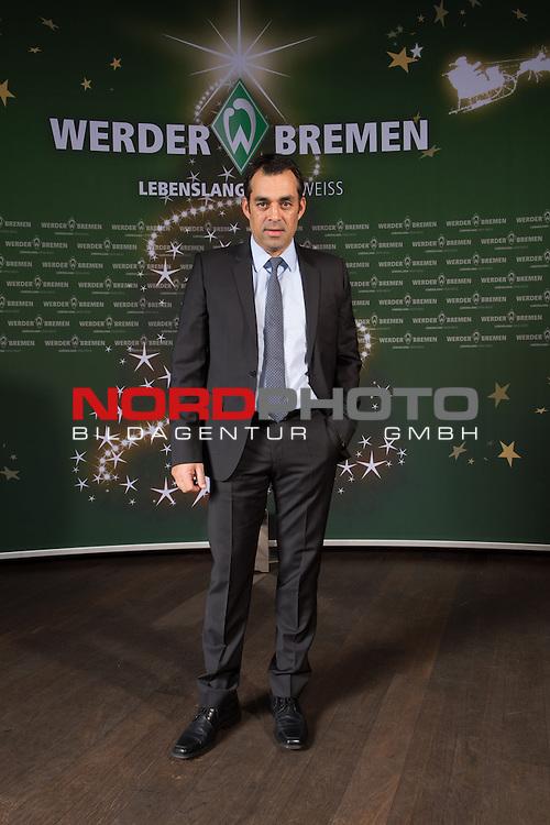 16.12.2013, GOP - Theater, Bremen, Weihnachtsfeier Werder Bremen 2013, im Bild<br /> <br /> Robin Dutt<br /> <br /> Foto &copy; nordphoto / Kokenge