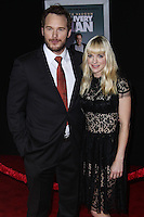 "HOLLYWOOD, CA - NOVEMBER 03: Chris Pratt, Anna Faris at the Los Angeles Premiere Of DreamWorks Pictures' ""Delivery Man"" held at the El Capitan Theatre on November 3, 2013 in Hollywood, California. (Photo by Xavier Collin/Celebrity Monitor)"