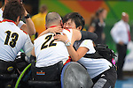Seiya Norimatsu (JPN), <br /> SEPTEMBER 18, 2016 - WheelChair Rugby : <br /> 3rd place match Japan - Canada  <br /> at Carioca Arena 1<br /> during the Rio 2016 Paralympic Games in Rio de Janeiro, Brazil.<br /> (Photo by AFLO SPORT)