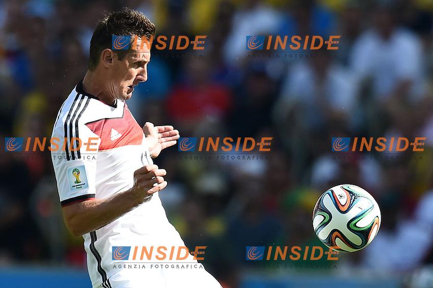 Miroslav Klose Germany <br /> Rio de Janeiro (Brasile) 04-07-2014 Maracana Quarter-Finals / Quarti di finale France - Germany / Francia - Germania. Football 2014 Fifa World Cup Brazil - Campionato del Mondo di Calcio  Brasile 2014 <br /> Foto Insidefoto