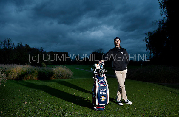 Belgian golf player Thomas Pieters (Belgium, 02/11/2014)