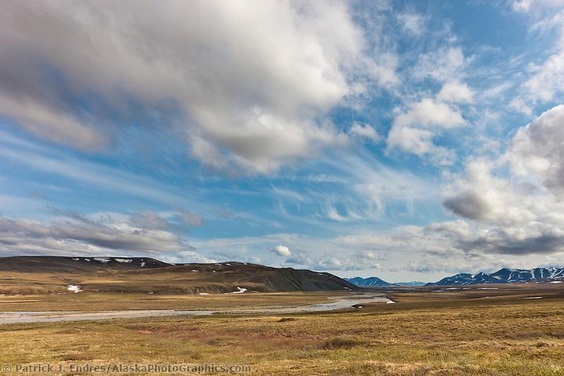 Nigu river, Brooks Range, National Petroleum Reserve, Alaska.