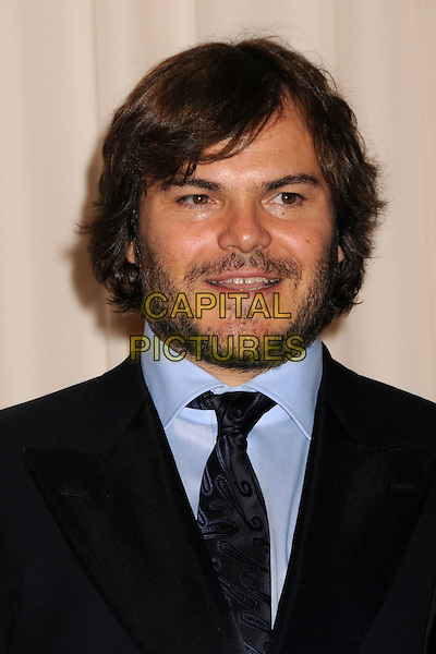 JACK BLACK.81st Annual Academy Awards Press Room held at the Kodak Theatre, Hollywood, California, USA..February 22nd, 2009.oscars headshot portrait beard facial hair .CAP/ADM/BP.©Byron Purvis/AdMedia/Capital Pictures.