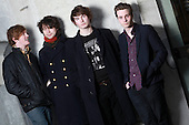 PALMA VIOLETS - L-R: Will Doyle, Pete Mayhew, Chilli Jesson, Sam Fryer - Photosession in Paris France - 15 Jan 2013.  Photo credit: Manon Violence/Dalle/IconicPix
