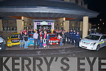 LAUNCH: The launch of the Circuit of Kerry rally sponsored by Fels Point Hotel,,Tralee on Saturday night.