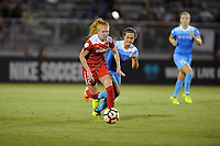 Boyds, MD - Saturday August 26, 2017: Tori Huster, Danielle Colaprico during a regular season National Women's Soccer League (NWSL) match between the Washington Spirit and the Chicago Red Stars at Maureen Hendricks Field, Maryland SoccerPlex.