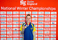 Picture by Allan McKenzie/SWpix.com - 13/12/2017 - Swimming - Swim England Winter Championships - Ponds Forge International Sport Centre - Sheffield, England - Amelia Monaghan.
