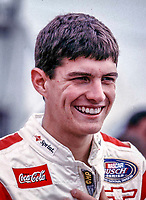 NASCAR driver Adam Petty, shown in this file photo from February 1999, was killed in a racing crash in Loudon, New Hampshire Friday May 12, 2000. (Photo by Brian Cleary)