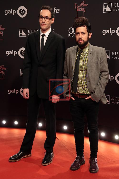 63 Premios Ondas.<br /> Photocall-Gala entrega de Premios.<br /> Xavi Puig &amp; Kike Garcia.