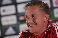 2015 09 10 Swansea City FC, Garry Monk press conference,Liberty Stadium,UK