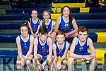 At the Annual KDYS/Garda basketball blitz at Castleisland Community Centre on Friday were farranfore warriors  front l-r Emma O'Sullivan, Luke Ring, Colin Callaghan, Brian McCarthy, Back l-r Grainne O'leary, Claire McCarthy and Michelle Murphy