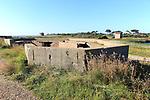 Military building Emergency Coastal Defence Battery at East Lane, Bawdsey, Suffolk, England, UK