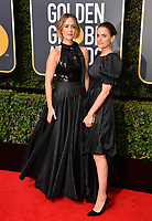 Sarah Paulson &amp; Amanda Peet at the 75th Annual Golden Globe Awards at the Beverly Hilton Hotel, Beverly Hills, USA 07 Jan. 2018<br /> Picture: Paul Smith/Featureflash/SilverHub 0208 004 5359 sales@silverhubmedia.com