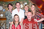 STAFF NIGHT: Staff of Mai Fitz's Restaurant, Listowel enjoying their staff night out in The Horse Shoe Bar and Restaurant, Listowel on Sunday night were seated front l-r: Kelley Enright and Mike Buckley. Back l-r: Carmel Breen, Mark Looney, Benita Finnerty and Tina Enright.   Copyright Kerry's Eye 2008