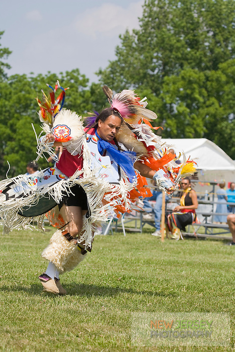 Traditional Fancy Dancer, at the Nanticoke Lenni-Lenapi Indian Pow Wow