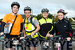 Puncture Kit<br /> -----------------<br /> L-R John Xccrohan, Danial Murphy with Bernadette&amp;Clodagh Crowley all geared up for the Harvest cycle.
