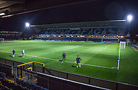 General view before the The Checkatrade Trophy Southern Group D match between Wycombe Wanderers and Coventry City at Adams Park, High Wycombe, England on 9 November 2016. Photo by Andy Rowland.