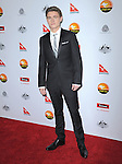 Callan McAuliffe at The G'Day USA Black Tie Gala held at The JW Marriot at LA Live in Los Angeles, California on January 12,2013                                                                   Copyright 2013 Hollywood Press Agency