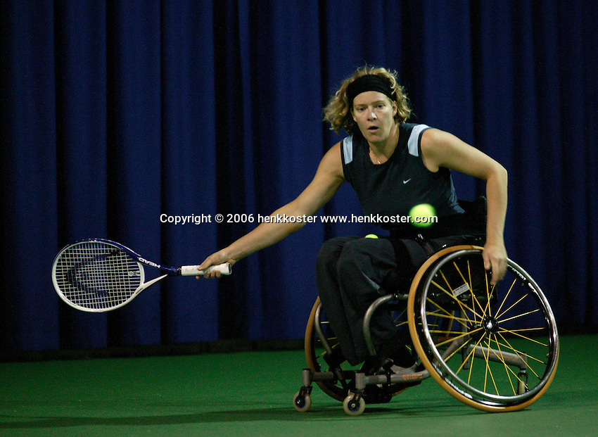 17-11-06,Amsterdam, Tennis, Wheelchair Masters, Karin Suter-Erath