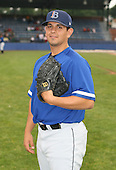 July 14th, 2007:  John Mariotti of the Aberdeen Ironbirds, Class-A Short-Season affiliate of the Baltimore Orioles, poses for a photo before a game vs the Jamestown Jammers in New York-Penn League action.  Photo Copyright Mike Janes Photography 2007.
