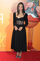 "07 April 2019 - New York, New York - Zoe Saldana at the New York Premiere of ""MISSING LINK"", held at Regal Cinemas Battery Park II. Photo Credit: LJ Fotos/AdMedia"